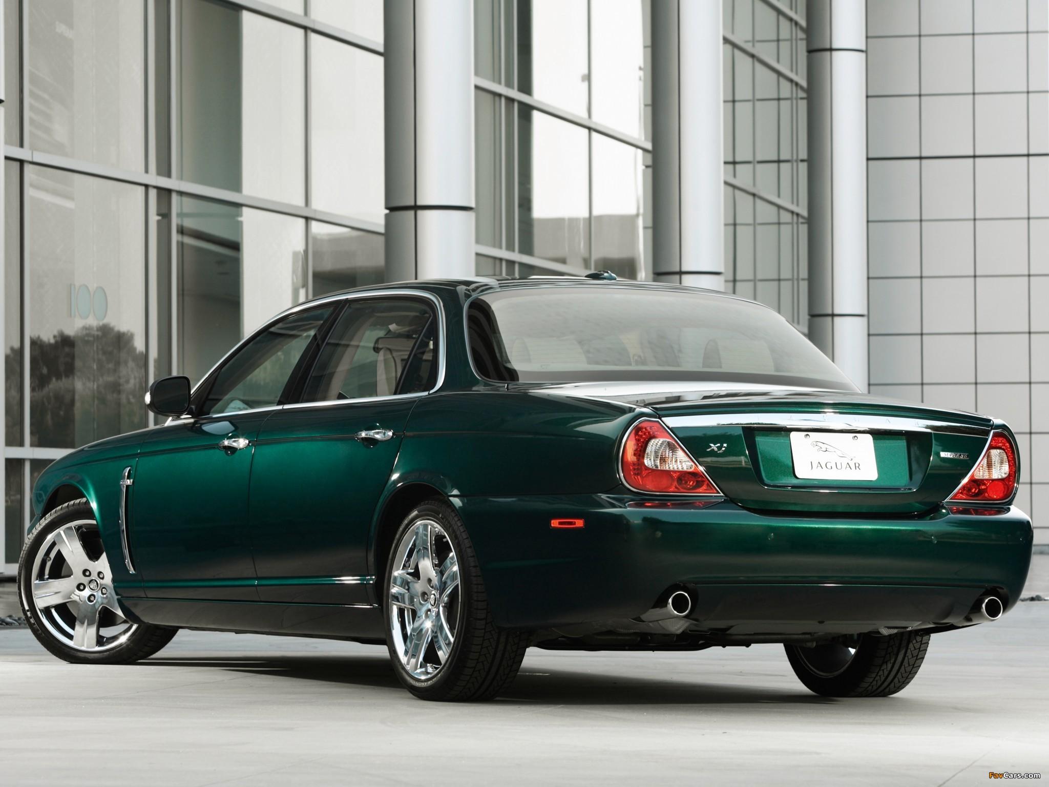 Jaguar XJ Super V8 (X358) 2007-09 images (2048x1536)