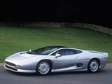 Photos of Jaguar XJ220 UK-spec 1992–94