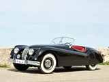 Jaguar XK140 Roadster 1954–57 images