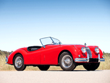 Jaguar XK140 Roadster 1954–57 pictures