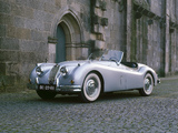 Jaguar XK140 Roadster 1954–57 wallpapers