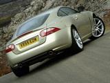 Jaguar XK Coupe UK-spec 2006–09 photos