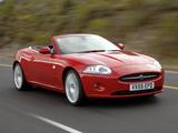 Jaguar XK Convertible 2006–09 pictures