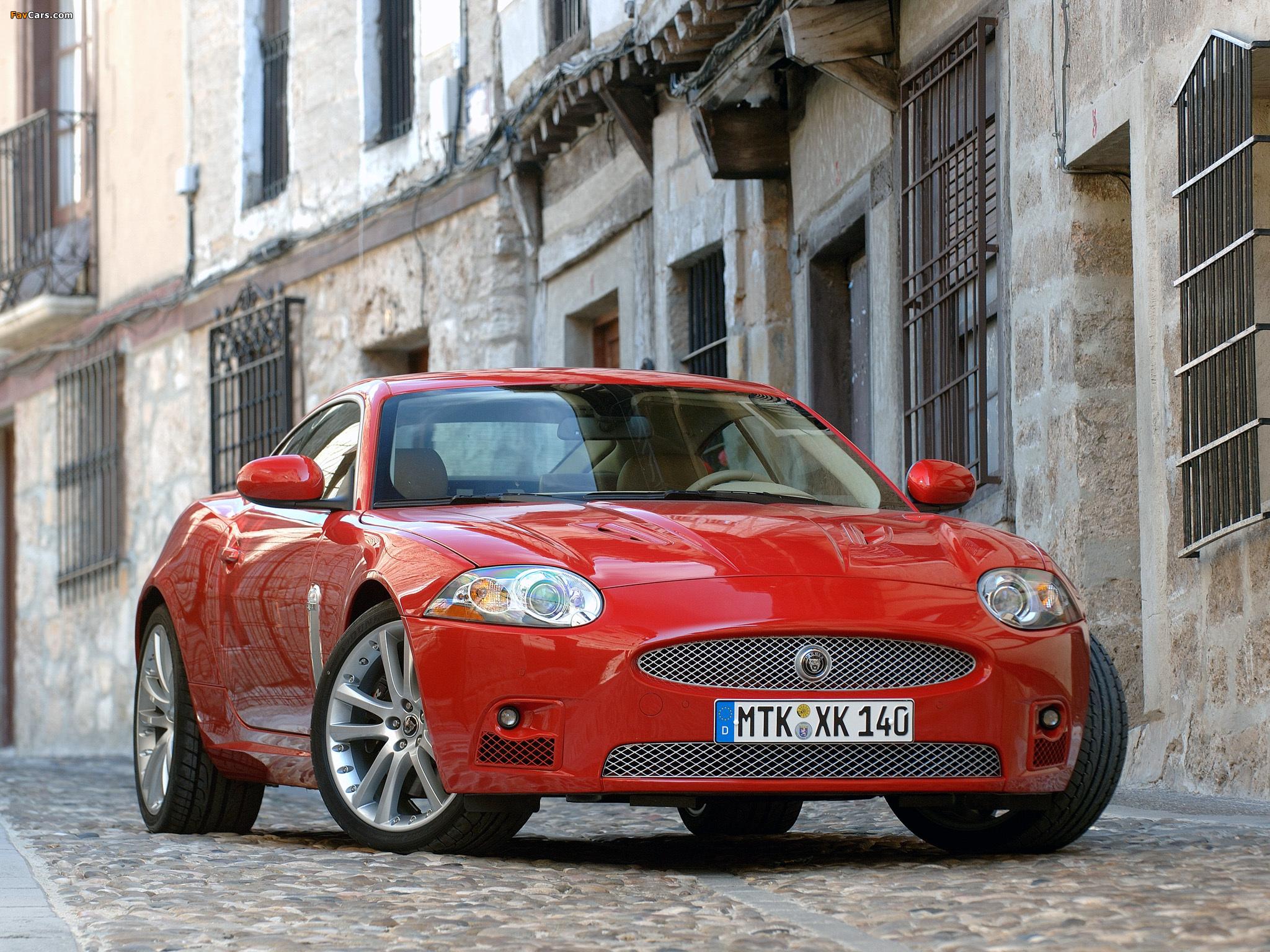 Jaguar XKR Coupe 2007-09 images (2048x1536)