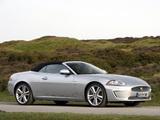 Jaguar XKR Convertible UK-spec 2009–11 photos