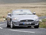Jaguar XK Convertible UK-spec 2009–11 photos