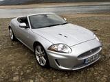 Jaguar XKR Convertible UK-spec 2009–11 pictures
