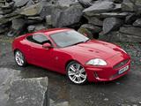 Jaguar XKR Coupe UK-spec 2009–11 wallpapers