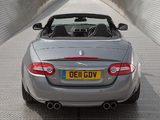 Jaguar XKR Convertible UK-spec 2011 wallpapers