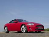 Photos of Jaguar XKR Convertible UK-spec 2009–11
