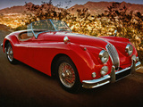 Pictures of Jaguar XK140 Roadster 1954–57