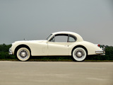 Pictures of Jaguar XK140 Fixed Head Coupe 1954–57