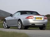 Pictures of Jaguar XKR Convertible UK-spec 2009–11