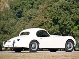 Jaguar XK120 Fixed Head Coupe 1951–54 wallpapers