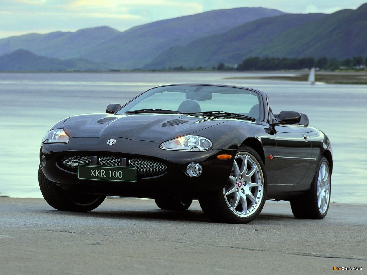 Jaguar XKR 100 Convertible 2002 wallpapers (1280x960)