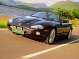 Jaguar XKR 100 Convertible 2002 wallpapers