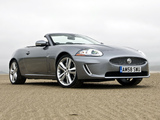 Jaguar XK Convertible UK-spec 2009–11 wallpapers