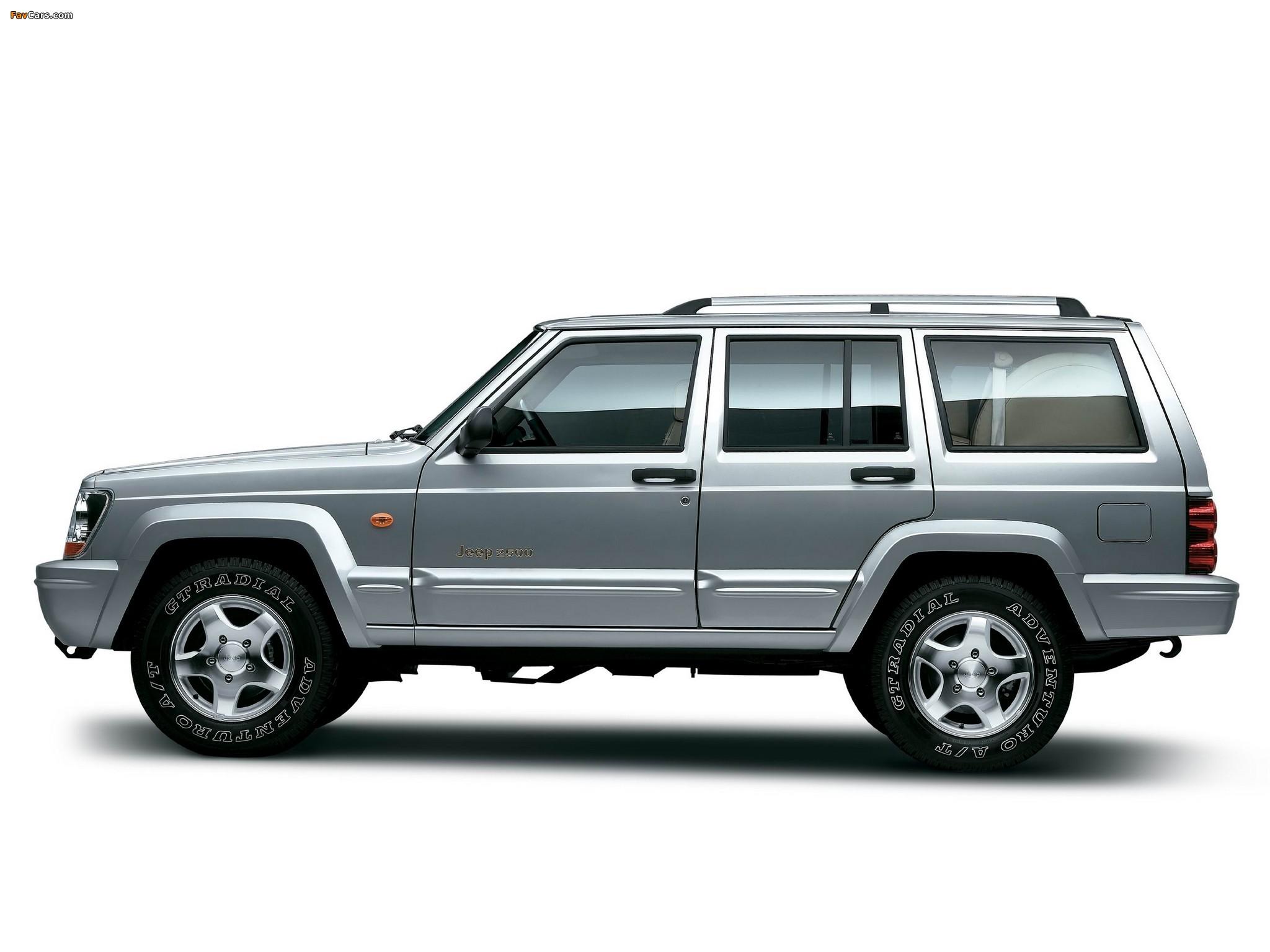 Photos of Jeep 2500 (BJ2021EB) 2003–05 (2048 x 1536)