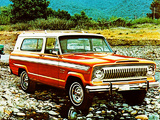 Images of Jeep Cherokee (SJ) 1974–78