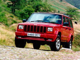 Images of Jeep Cherokee Orvis UK-spec (XJ) 1997–2001