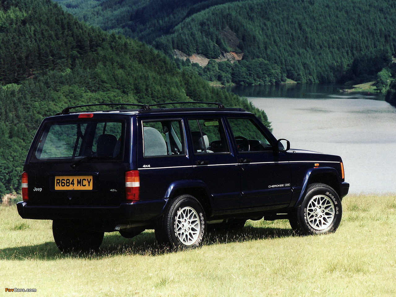 Great Images Of Jeep Cherokee Limited UK Spec (XJ) 1998u20132001 (1280