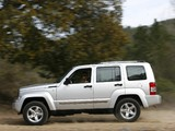 Images of Jeep Cherokee Limited RD EU-spec (KK) 2007
