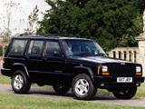 Jeep Cherokee Orvis UK-spec (XJ) 1997–2001 images