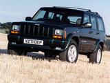Jeep Cherokee Orvis UK-spec (XJ) 1997–2001 photos