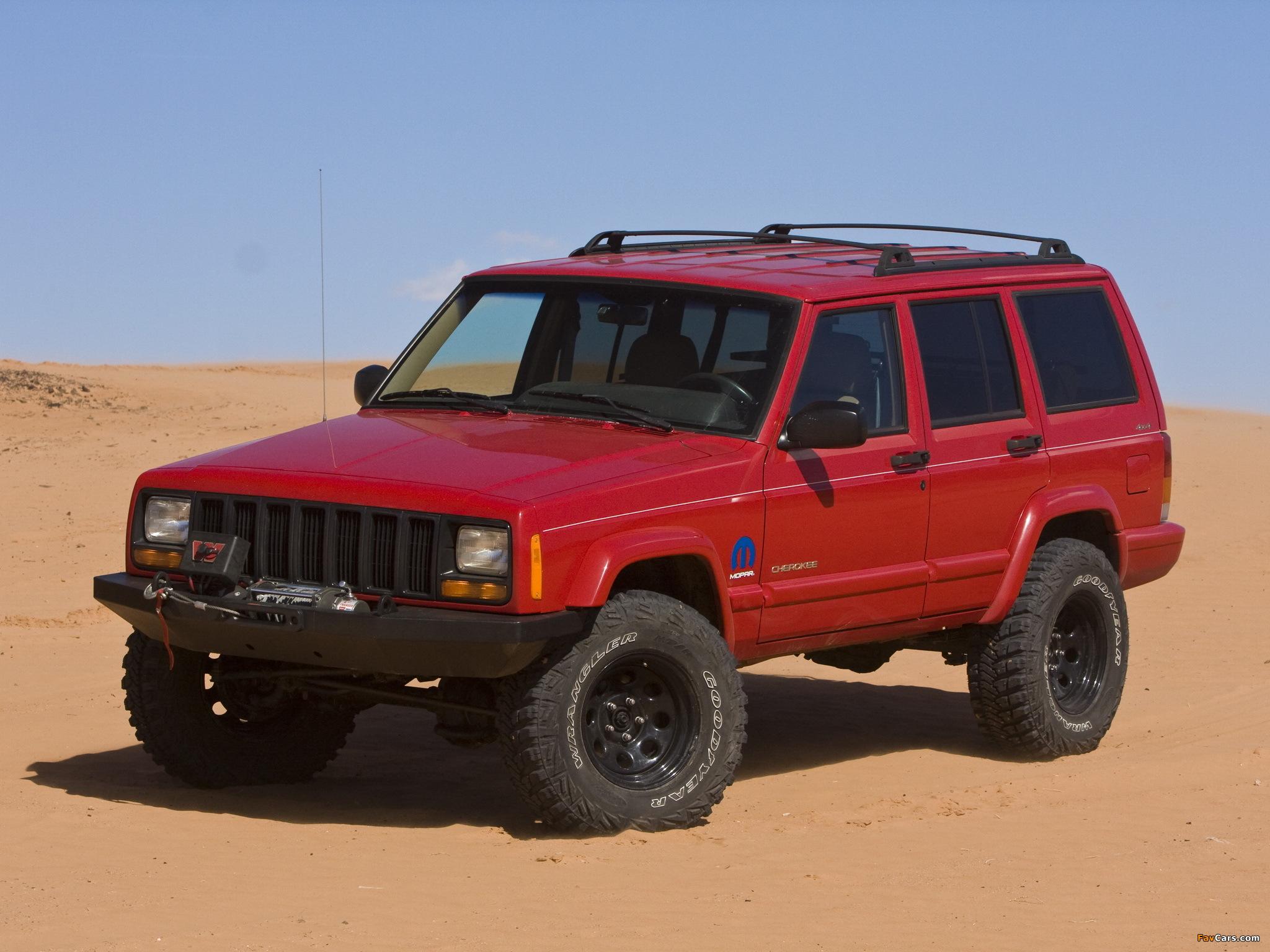 Mopar Jeep Cherokee Xj 1997 2001 Wallpapers 2048x1536
