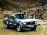 Jeep Cherokee Limited UK-spec (XJ) 1998–2001 images