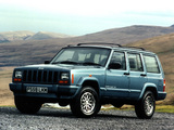 Jeep Cherokee Limited UK-spec (XJ) 1998–2001 wallpapers