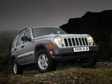 Jeep Cherokee UK-spec (KJ) 2005–07 wallpapers