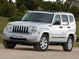 Jeep Cherokee Limited 3.7L EU-spec (KK) 2007 images