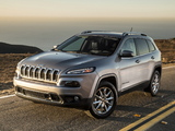 Jeep Cherokee Limited (KL) 2013 wallpapers