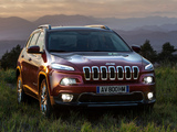 Jeep Cherokee Limited EU-spec (KL) 2014 images