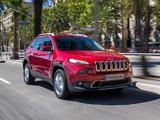 Jeep Cherokee Limited EU-spec (KL) 2014 photos