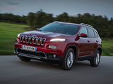 Jeep Cherokee Limited EU-spec (KL) 2014 pictures