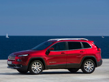 Jeep Cherokee Limited EU-spec (KL) 2014 wallpapers