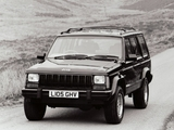 Photos of Jeep Cherokee Limited UK-spec (XJ) 1993–96