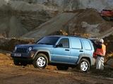 Photos of Jeep Cherokee Pioneer (KJ) 2005–07