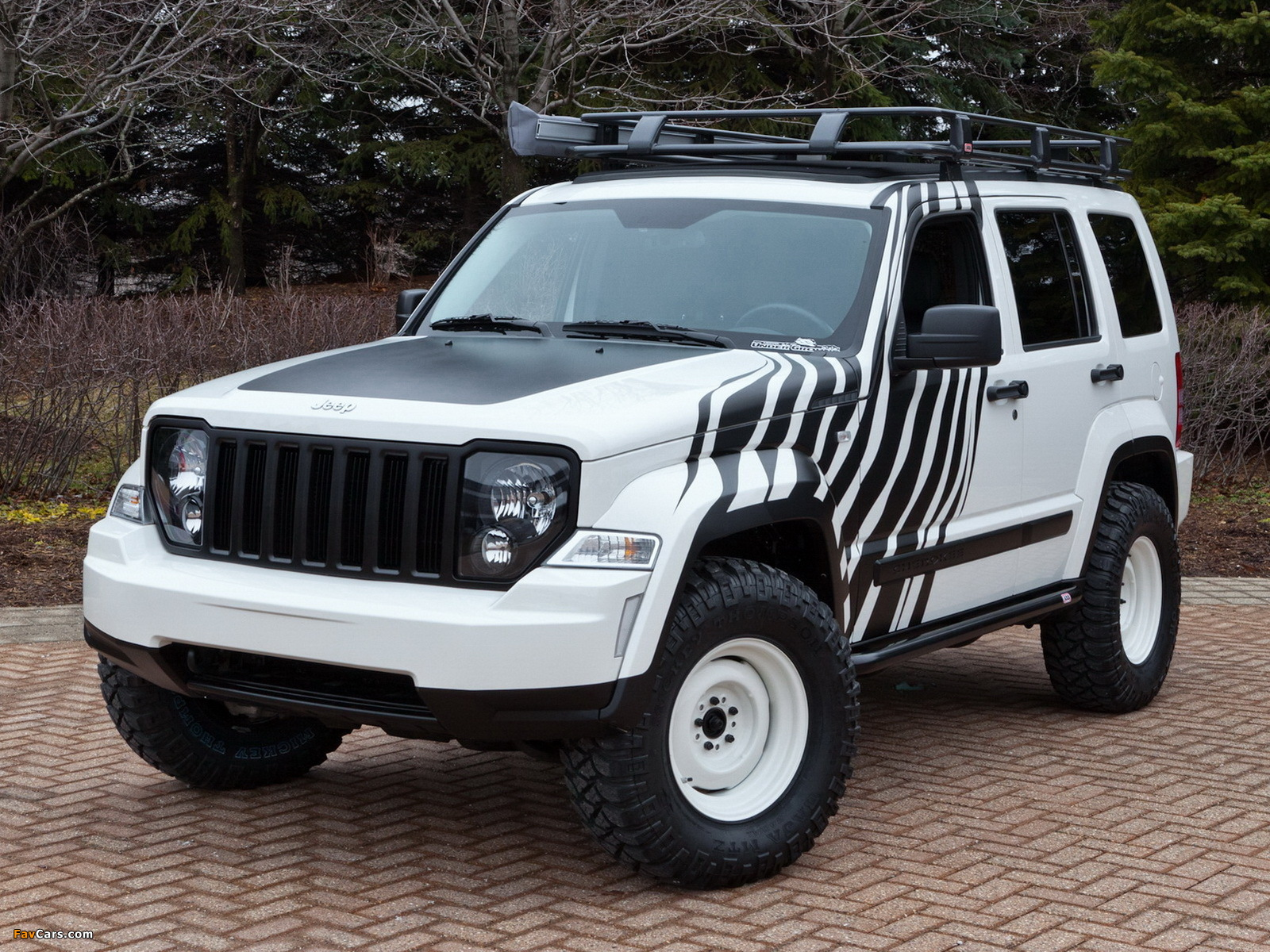 Photos Of Mopar Jeep Cherokee Overland Concept Kk 2011