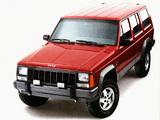 Pictures of Jeep Cherokee Laredo (XJ) 1993–96