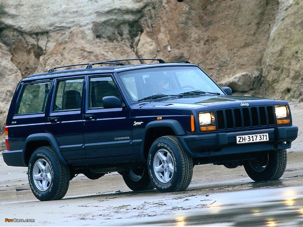 pictures of jeep cherokee sport xj 1997 2001 1024x768. Black Bedroom Furniture Sets. Home Design Ideas