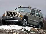 Pictures of Jeep Cherokee Renegade UK-spec (KJ) 2005–07