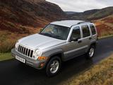 Pictures of Jeep Cherokee UK-spec (KJ) 2005–07