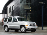 Pictures of Jeep Cherokee Limited UK-spec (KJ) 2005–07