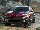 Pictures of Jeep Cherokee Trailhawk (KL) 2013