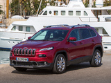 Pictures of Jeep Cherokee Limited EU-spec (KL) 2014
