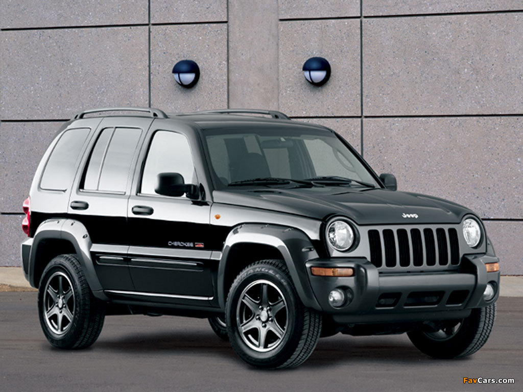Jeep Cherokee Kj 2002 05 Wallpapers