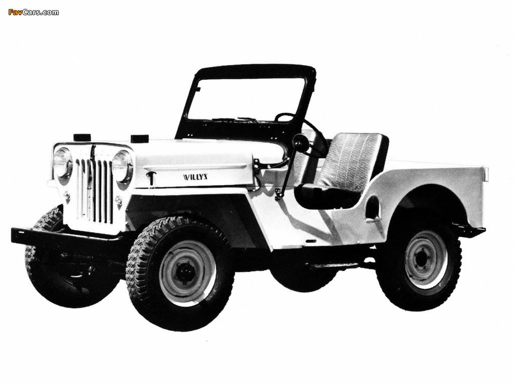 Jeep CJ-3B 1953–68 images (1024 x 768)